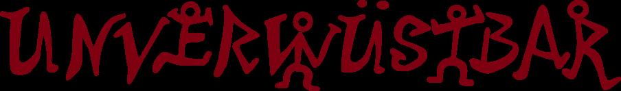 Unverwüstbar Logo